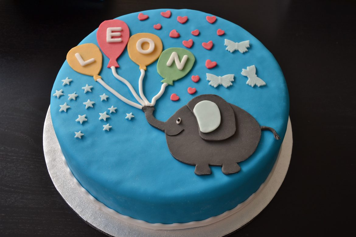 Baby Party Torte Leon The Big Sweet Cakery