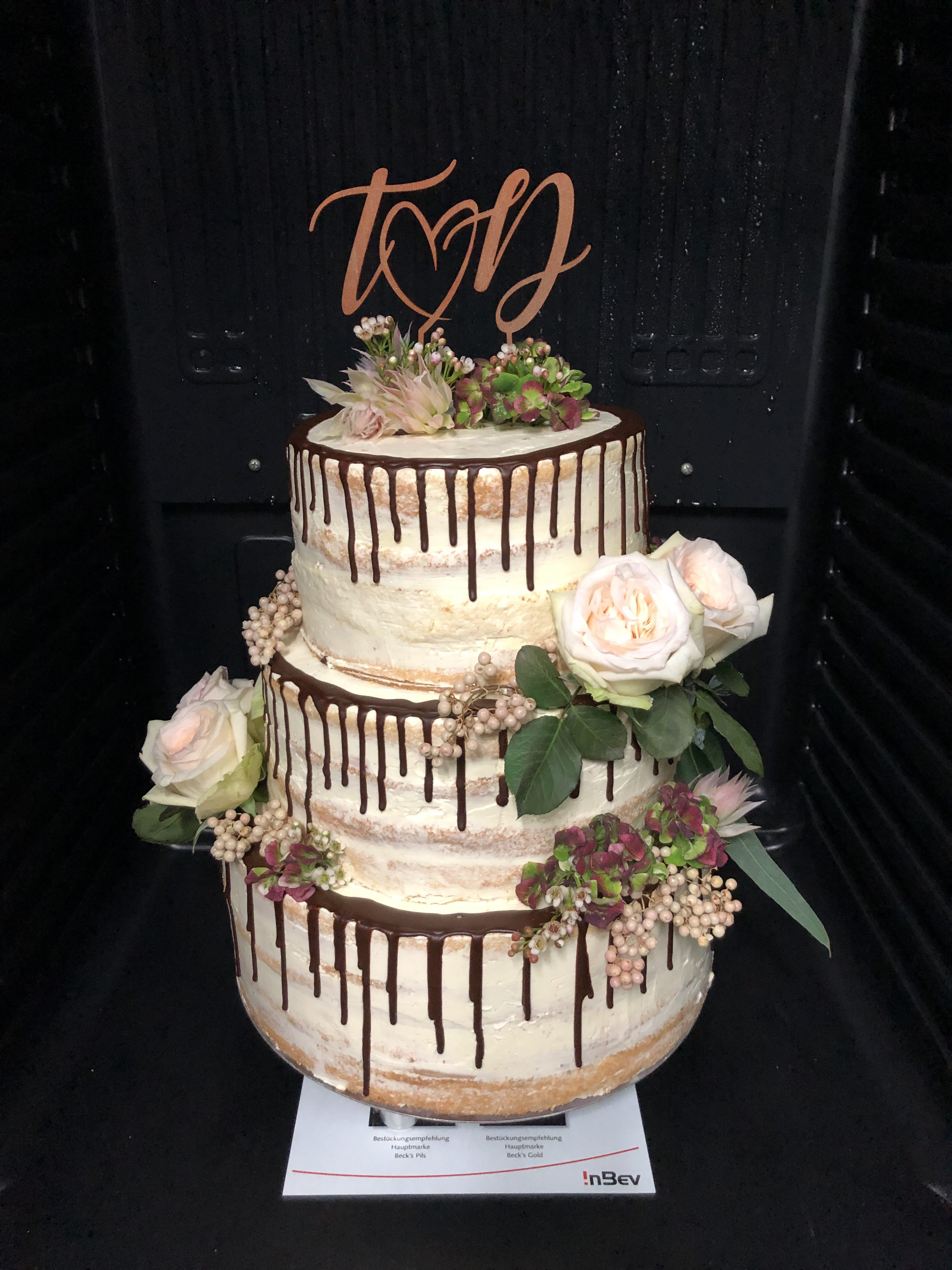 Naked Cake Hochzeitstorte The Big Sweet Cakery