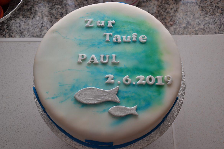 Tauftorte Paul